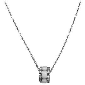 """Chanel-Collier Chanel, """"Ultra"""", or blanc, céramique blanche et diamants.-Autre"""