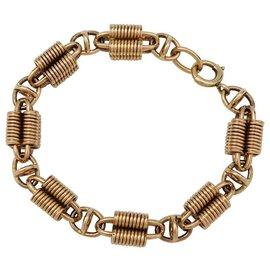 inconnue-Bracelet maille fantaisie en or rose.-Autre