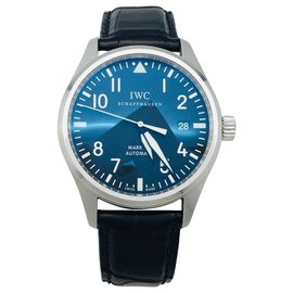 "Autre Marque-IWC watch, ""Mark XVI"", steel and leather.-Other"