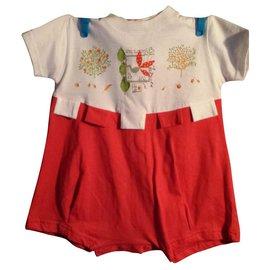 Catimini-Babymini Mädchen Overall von Catimini-Mehrfarben
