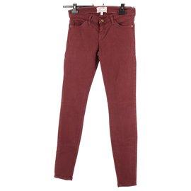 Current Elliott-Jeans-Bordeaux