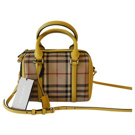 Burberry-Horseferry Small Alchester-Yellow