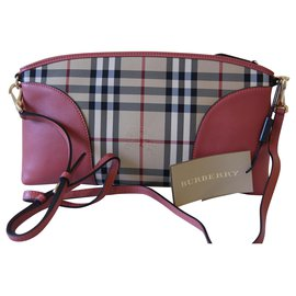 Burberry-Small Chichester Horseferry-Peach
