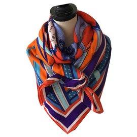 Hermès-stirrup duet-Orange