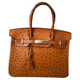 Hermès-Birkin 30-Caramel