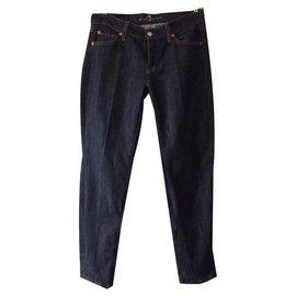 7 For All Mankind-jeans-Bleu