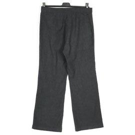 Trussardi-Trussardi pantalon large gris M / L 42-Gris