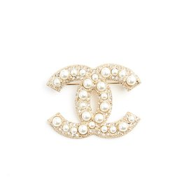 Chanel-CC DIAMONDS AND PEARLS-Doré