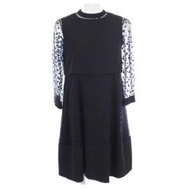 Chloé-Dress-Navy blue