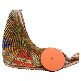 Hermès-Plisse-Multicolore