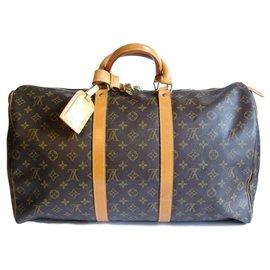 Louis Vuitton-Keepall 50-Marron