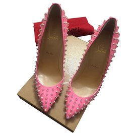 Christian Louboutin-Brevet Spike-Rose