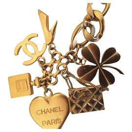 Chanel-Très belle ceinture Chanel-Doré