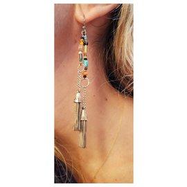 Gas-Boucles d'oreilles-Multicolore