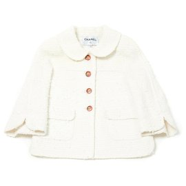 Chanel-White gorgeous FR38-Blanc