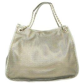 Chanel-Chanel Vintage Shoulder Bag-Silvery