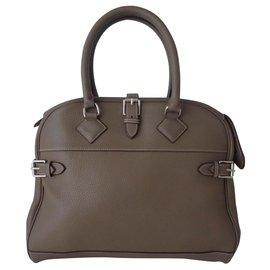 Hermès-BAG HERMES ATLAS ETOUPE-Grey