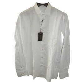 Bottega Veneta-BOTTEGA VENETA NEW MEN'S WHITE SHIRT-White