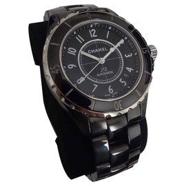 Chanel-J watch12 Chanel automatic-Black