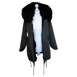 Mr & Mrs italy-Fur-Noir,Kaki
