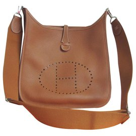 Hermès-Hermès bag Evelyne-Caramel