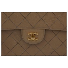 Chanel-Timeless single flap-Brown