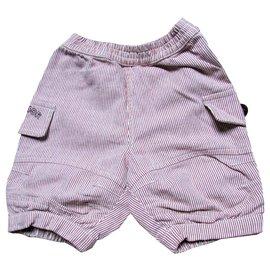 Baby Dior-Shorts de garçons-Bordeaux