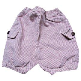 Baby Dior-Jungen Shorts-Bordeaux