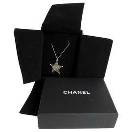 Chanel-Paris Dallas Necklace-Silvery