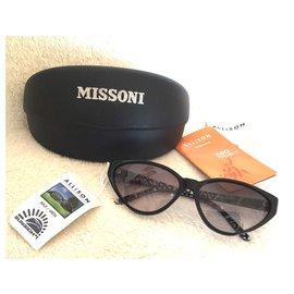 M Missoni-Des lunettes de soleil-Noir