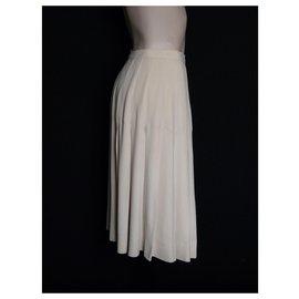 Yves Saint Laurent-Skirts-Beige