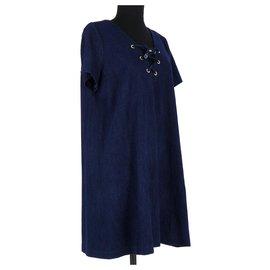 Ba&Sh-Robe-Bleu Marine