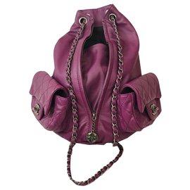 Chanel-Backpack-Purple