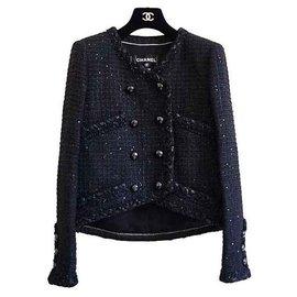 Chanel-Vestes-Noir