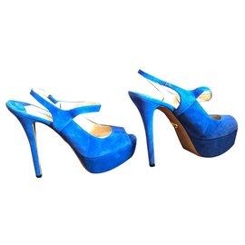 Prada-Heels-Blue