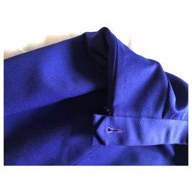 Christian Dior-Jupes-Bleu foncé