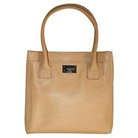 Chanel-Shopping Mademoiselle 2.55-Beige