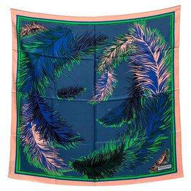Emilio Pucci-Foulard rétro imprimé-Multicolore