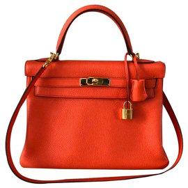 Hermès-Kelly 32-Orange