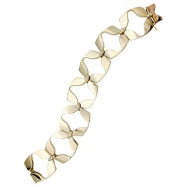 inconnue-Bracelet en or jaune et diamants, 1970.-Autre