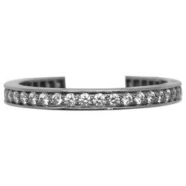 """Van Cleef & Arpels-Alliance Van Cleef and Arpels modèle """"Romance"""" en platine, diamants.-Autre"""