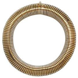 inconnue-Bracelet Spiro-Tube  en or jaune.-Autre