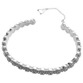 "Messika-Bracelet Messika, modèle ""Joy Diamond Halo"", diamants et or blanc.-Autre"