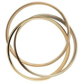 """Cartier-Bracelet Cartier, modèle """"Trinity"""", grand modèle.-Autre"""