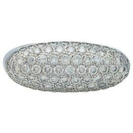 """Hermès-Bague Hermès """"Etrier"""" en or blanc et diamants-Autre"""