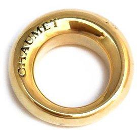 """Chaumet-Bague en or jaune Chaumet modèle """"Anneau"""".-Autre"""