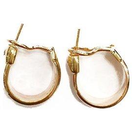 """Cartier-Boucles d'oreille Cartier """"Fogorra"""" en trois tons d'or, diamant.-Autre"""