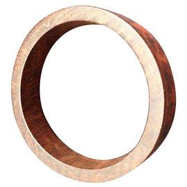 Autre Marque-Bracelet vintage en bois-Marron