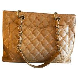 Chanel-Grand shopping-Beige