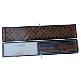 Louis Vuitton-Louis Vuitton Travel Incense Gift Set-Brown